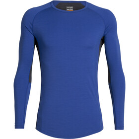 Icebreaker 200 Zone T-shirt manches longues à col ras-du-cou Homme, surf/midnight navy